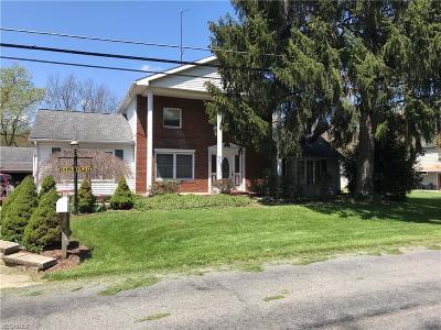 Mcdonald Single Family Home For Sale: 3252 Niles Carver Rd