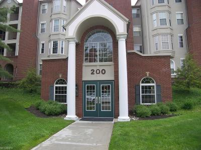 Mayfield Heights Condo/Townhouse For Sale: 200 Fox Hollow Dr #311