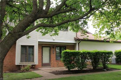 Mentor Condo/Townhouse For Sale: 7164 Village Dr
