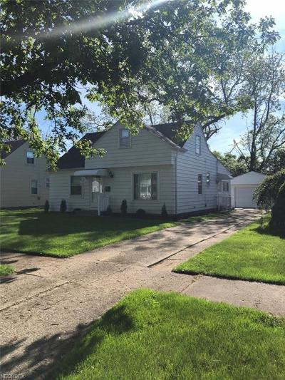 Cleveland Single Family Home For Sale: 4382 West 191st St