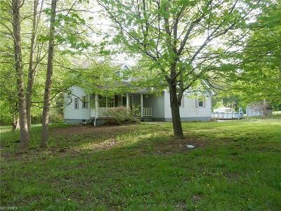 Ashtabula County Single Family Home For Sale: 5512 White Rd