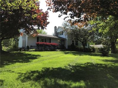 Leroy Single Family Home For Sale: 14880 Painesville Warren Rd