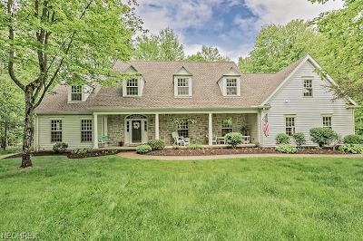 Geauga County Single Family Home For Sale: 8570 Chase Dr