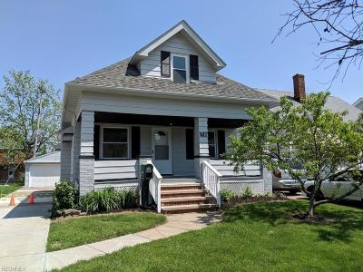 Cuyahoga County Single Family Home For Sale: 7110 Gerald Ave