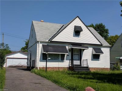 Cleveland Single Family Home For Sale: 4233 East 189th St