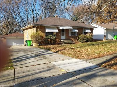 Cleveland Single Family Home For Sale: 5010 Donovan Dr