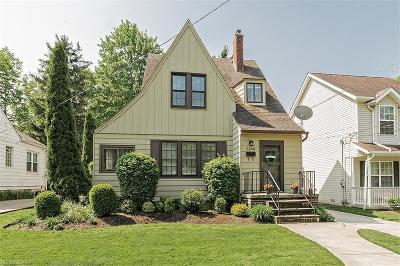 Cuyahoga County Single Family Home For Sale: 5240 Edenhurst Rd