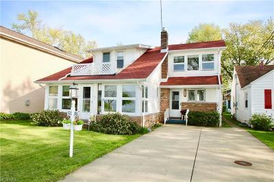 Ashtabula County Single Family Home For Sale: 5136 Cliff Dr