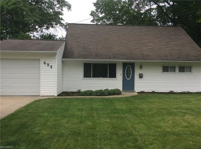 Berea Single Family Home For Sale: 494 Woodmere Dr
