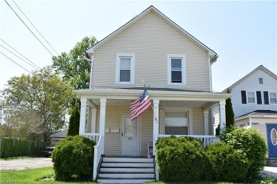 Fairport Harbor Multi Family Home For Sale: 613 High St