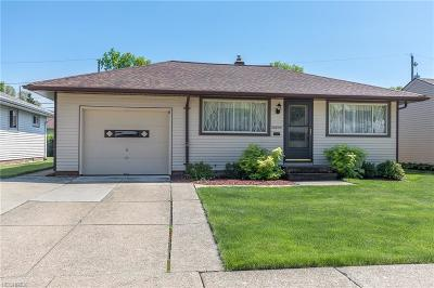 Wickliffe Single Family Home For Sale: 30856 Harrison Rd
