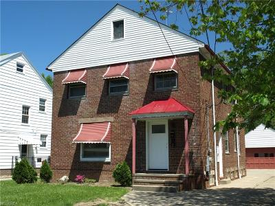 Cleveland Multi Family Home For Sale: 4381 West 140 St