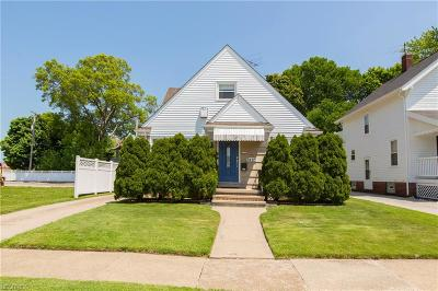 Rocky River Single Family Home For Sale: 1447 Rockland Ave
