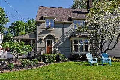 Rocky River Single Family Home For Sale: 21191 Stratford Ave
