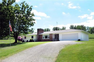 Guernsey County Single Family Home For Sale: 68313 Read Rd