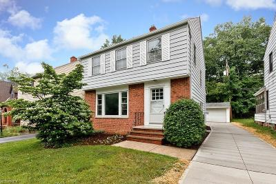 Cleveland Single Family Home For Sale: 1203 Haselton Rd