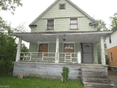 Cleveland Single Family Home For Sale: 3175 East 130th St