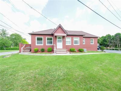 Broadview Heights Multi Family Home For Sale: 4725 Mill Rd