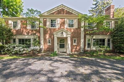 Shaker Heights Single Family Home For Sale: 2905 Paxton Rd