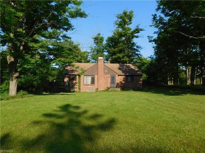 Solon Single Family Home For Sale: 5430 Brainard Rd