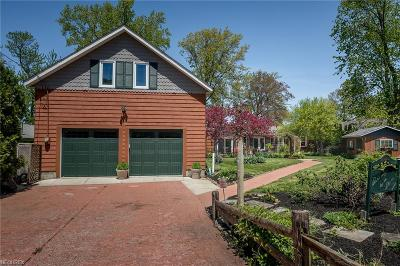Lake County Single Family Home For Sale: 7583 Lakeshore Blvd