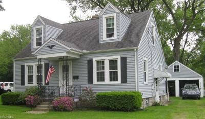 Hubbard Single Family Home For Sale: 255 East Water St