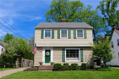 Rocky River Single Family Home For Sale: 21382 Beachwood Dr