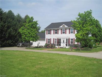 Medina Single Family Home For Sale: 4325 Marks Rd