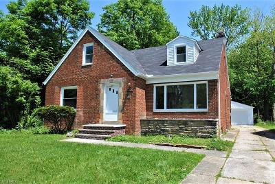 South Euclid Single Family Home For Sale: 2055 Wrenford Rd