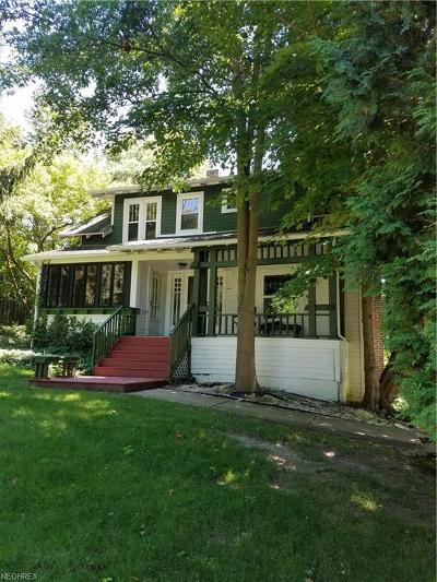 Chagrin Falls Single Family Home For Sale: 117 Miles Rd