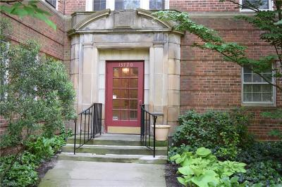 Cleveland Condo/Townhouse For Sale: 13720 Shaker Blvd #203