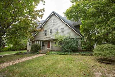 Cleveland Heights Single Family Home For Sale: 2183 Demington Dr