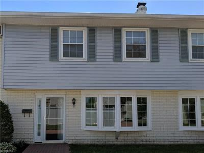 Mentor Condo/Townhouse For Sale: 8 Meadowlawn Dr #10