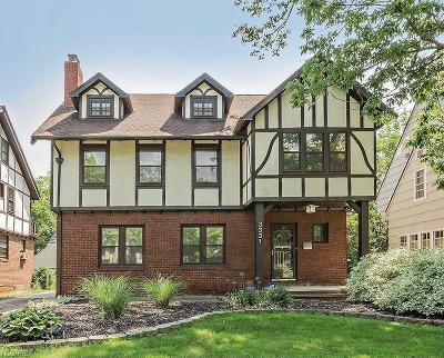 Shaker Heights Single Family Home For Sale: 3331 Kenmore Rd