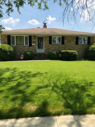 Cleveland OH Single Family Home For Sale: $147,000