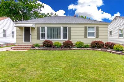 Wickliffe Single Family Home For Sale: 30009 Truman Ave