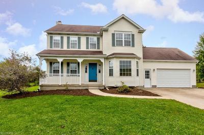 Leroy Single Family Home For Sale: 7655 Brakeman Rd