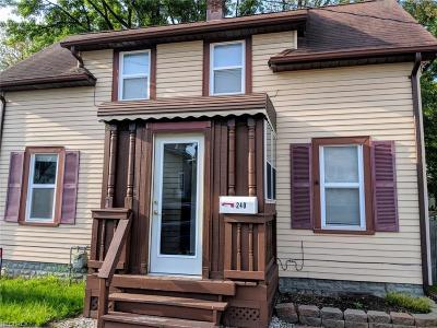 Fairport Harbor Single Family Home For Sale: 240 King St