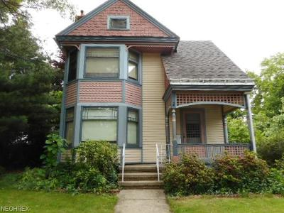 Painesville Single Family Home For Sale: 95 East South St