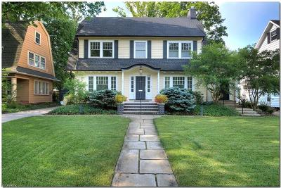 Cleveland Heights Single Family Home For Sale: 2710 Derbyshire Rd