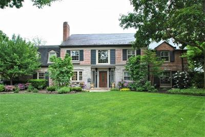 Shaker Heights Single Family Home For Sale: 2749 Cranlyn Rd