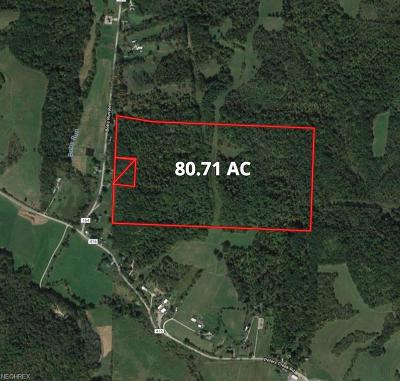 Guernsey County Residential Lots & Land For Sale: 63334 Bobs Run Rd