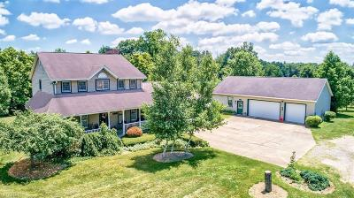 Muskingum County Single Family Home For Sale: 4000 Dori Ln