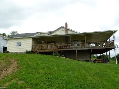 Guernsey County Single Family Home For Sale: 18513 Hobbler Ln