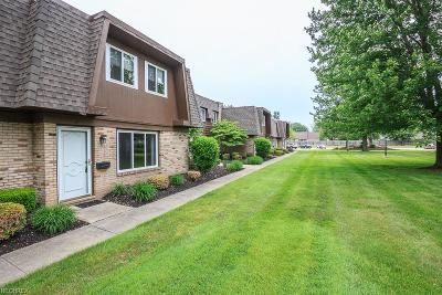 Mentor Condo/Townhouse For Sale: 6400 Center St #47