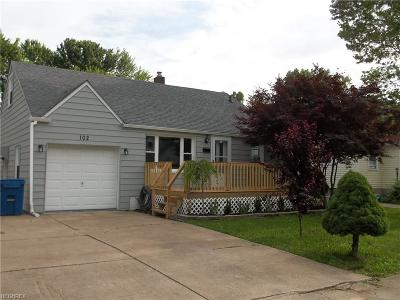 Painesville OH Single Family Home For Sale: $114,900