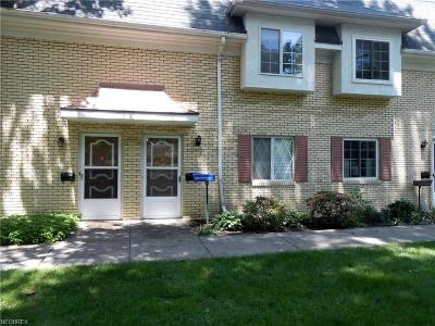 Mentor Condo/Townhouse For Sale: 8210 Deepwood Blvd #3