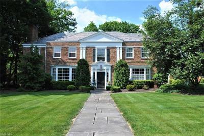 Shaker Heights Single Family Home For Sale: 18001 Shaker Blvd