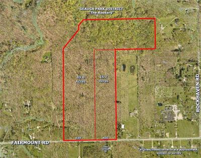Chesterland Residential Lots & Land For Sale: Parcel 1 Fairmount Rd