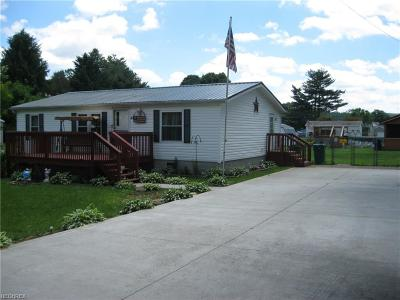 Frazeysburg OH Single Family Home For Sale: $92,900